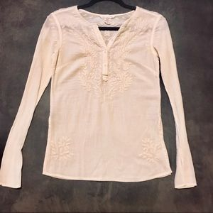 Adorable Linen Abercrombie & Fitch Top Size XS!